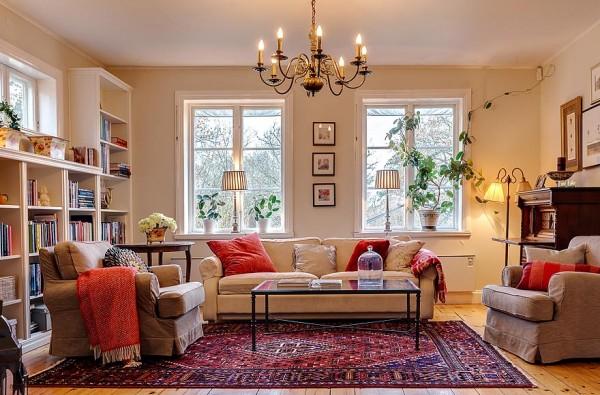 vackra vardagsrum